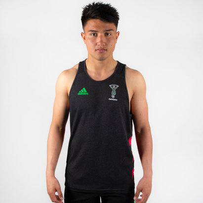 adidas Harlequins 2019/20 Players Rugby Training Singlet