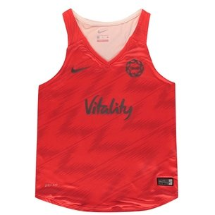 Nike England 2019 Kids Netball Training Tank Top