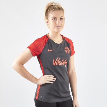 Nike England 2019 Ladies Warm Up Netball T-Shirt