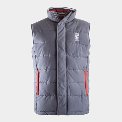 England Cricket Gilet Mens