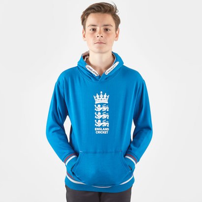 England Cricket Kids Classic Hooded Sweat