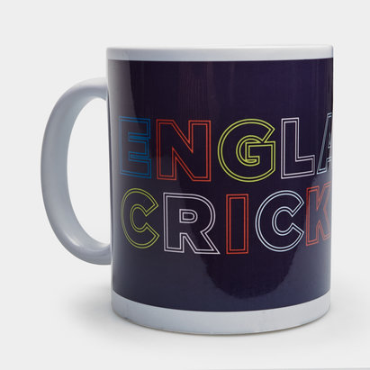 England Cricket Cricket Earthenware Mug