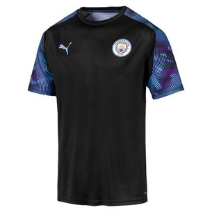 Puma Manchester City 19/20 Players S/S Football Training Shirt
