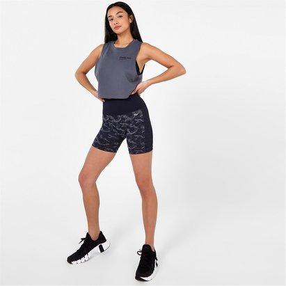 Everlast Seamless Camo 5 Inch Shorts