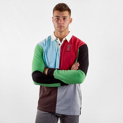 Harlequins 2018/19 L/S Retro Rugby Shirt
