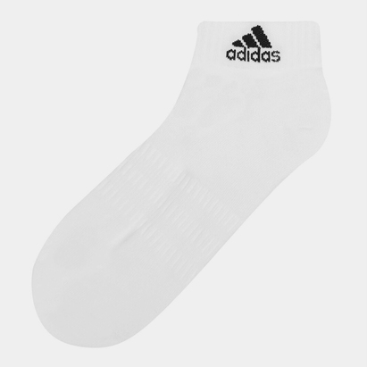 adidas Cushion Ankle Socks - 3 Pack