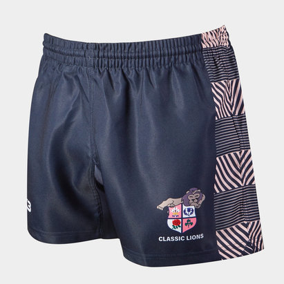 VX3 Classic Lions 2019/20 Home Rugby Shorts