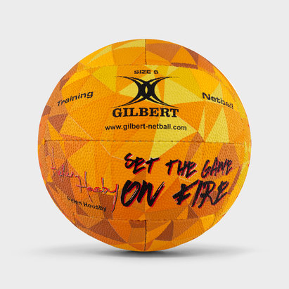 Gilbert Helen Housby Signature Fire Netball