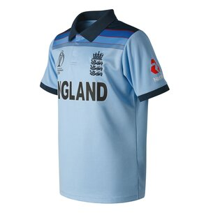 New Balance England Cricket ODI 2019 World Cup Winners Shirt