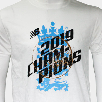 New Balance England 2019 World Cup Champions Cricket T-Shirt