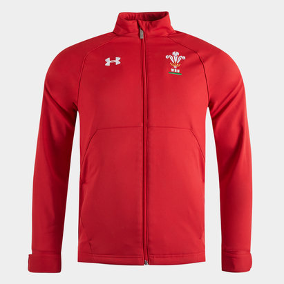 Under Armour Wales WRU Players Sideline Jacket
