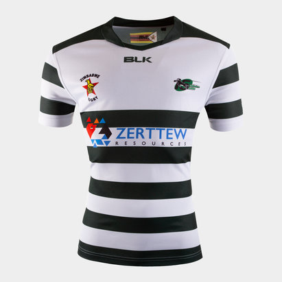 BLK Zimbabwe 2019/20 Home S/S Replica Rugby Shirt