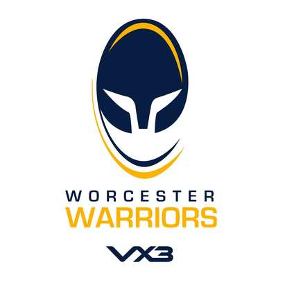 VX3 Worcester Warriors 2019/20 Home Classic Ladies Cotton Shirt