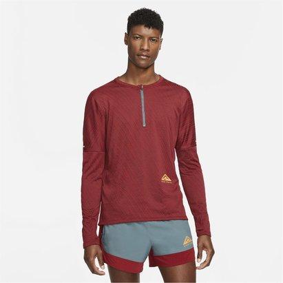 Nike Dri FIT Element Mens  half  Zip Trail Running Top