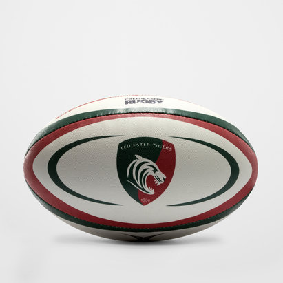 Gilbert Leicester Tigers Replica Rugby Ball