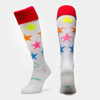 Wacky Sox Wackysox Neon Stars Socks