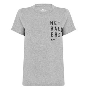 Nike England Netball T-Shirt Ladies
