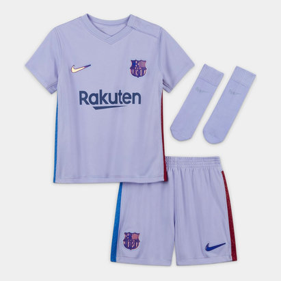 Nike Barcelona Away Baby Kit 2021 2022