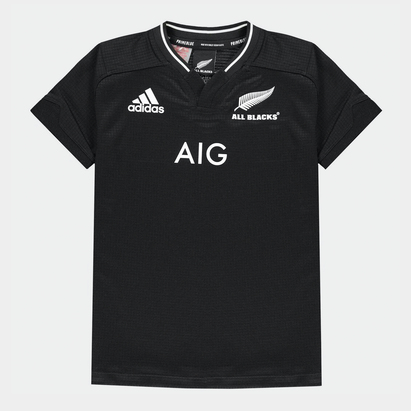 adidas New Zealand All Blacks 21/22 Home Shirt Kids