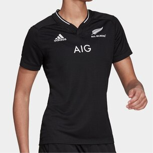 adidas New Zealand All Blacks 21/22 Home Shirt Ladies