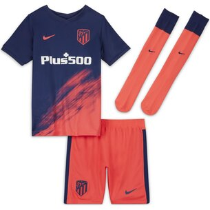 Nike Atletico Madrid Away Minikit 2021 2022