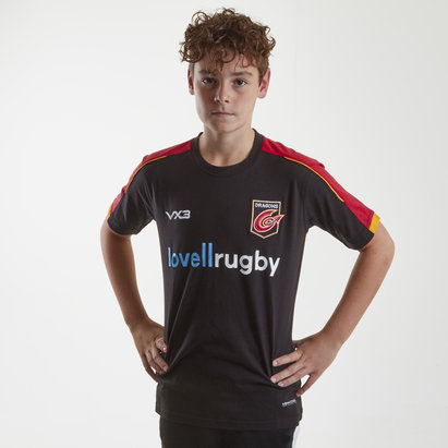 VX-3 Dragons 2018/19 Kids Pro Rugby T-Shirt