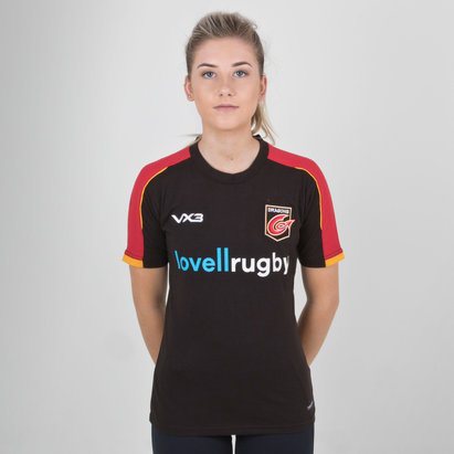 VX-3 Dragons 2018/19 Ladies Pro Rugby T-Shirt