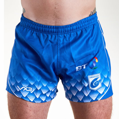 VX-3 Dragons 2018/19 Alternate Rugby Shorts