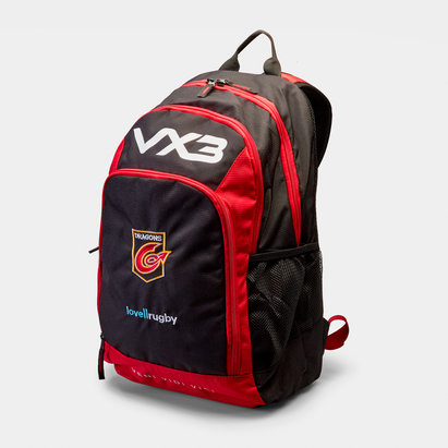VX3 Dragons 2018/19 Pro Rugby Rucksack