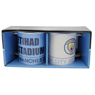 Manchester City Twin Mug Set