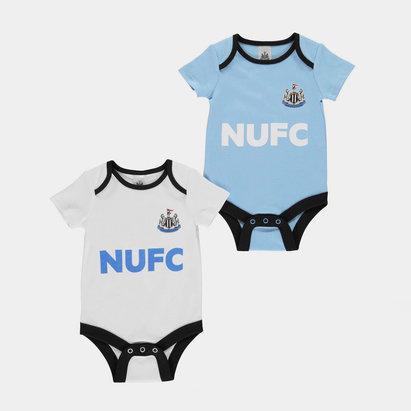 Newcastle United Football Body Vest Set Baby Boys