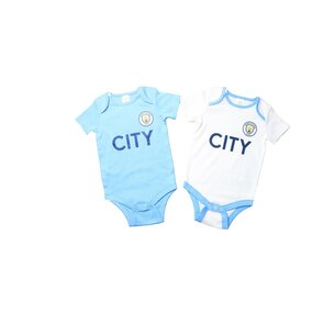 Manchester City Football Body Vest Set Baby Boys