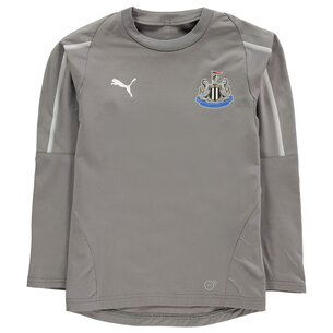 Puma Kids Newcastle United Training Sweatshirt 2018 2019