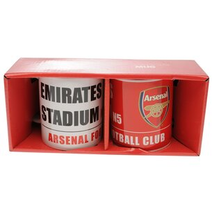 Arsenal Twin Mug Set