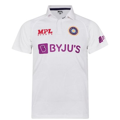 MPL Sports India Test Shirt 2021 Mens