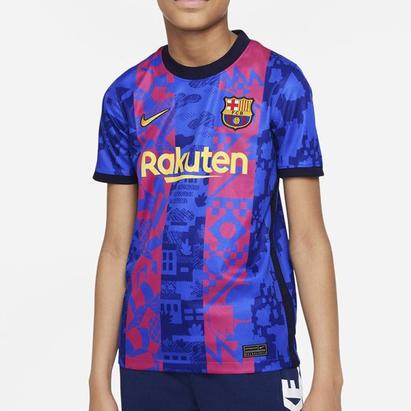 Nike Barcelona Third Shirt 2021 2022 Junior