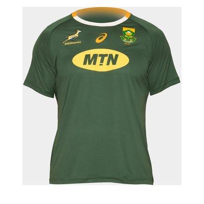 Asics South Africa Springboks Home T-Shirt Mens