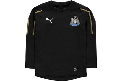 Puma Newcastle United Training Sweatshirt 2018 2019