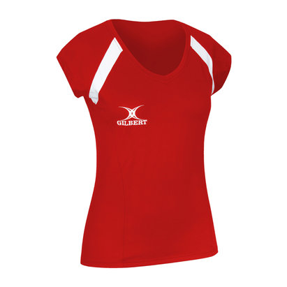 Gilbert Netball Helix Top - Plain