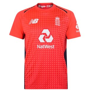 New Balance 2018/19 England Cricket T20 Replica Shirt