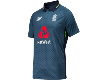 New Balance 2018/19 England Cricket Junior ODI Replica Shirt