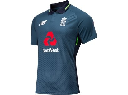 New Balance 2018/19 England Cricket ODI Replica Shirt