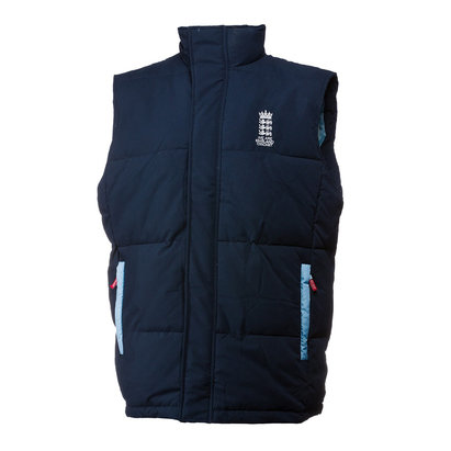 England Cricket Cricket Replica Gillet Mens