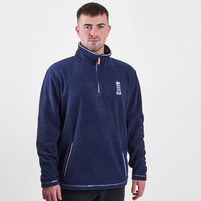England Cricket 1/4 Zip Fleece