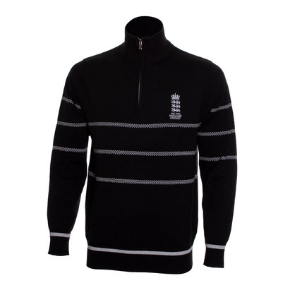 England Cricket Cricket Zip Sweater Mens