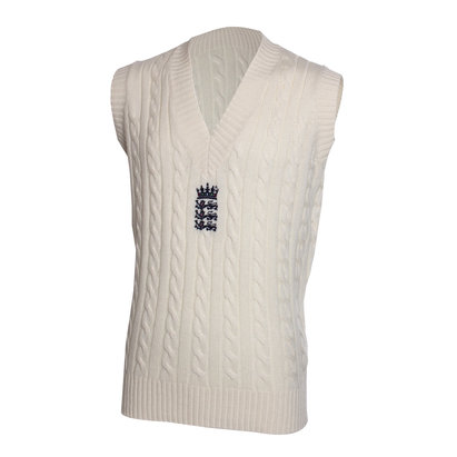 New Balance England Cricket TEST Sleeveless Stadium Cricket Jumper