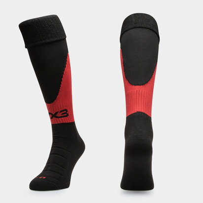 VX-3 Dragons 2018/19 Players Home Kids Rugby Socks