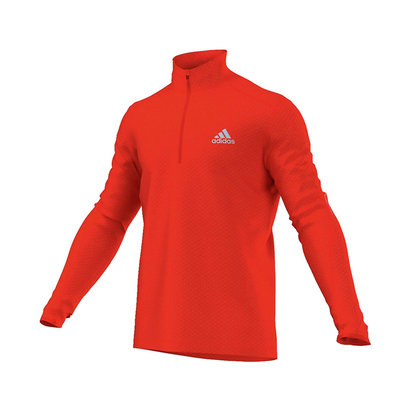 adidas AW14 Mens Sequentials Running Climawarm Long Sleeve Top