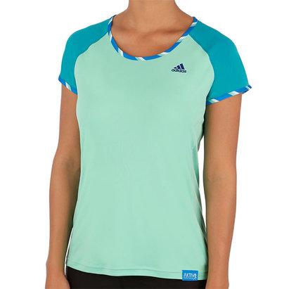 adidas AW14 Womens AKTIV Short Sleeve T-Shirt