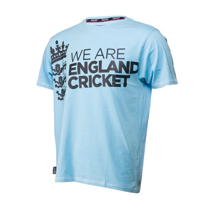 Cricket We Are England Cricket T Shirt Mens